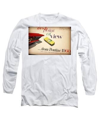 1960 Pontiac Matchbox Cover Car Long Sleeve T-Shirt