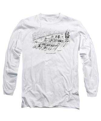 Are We There Yet? Long Sleeve T-Shirt