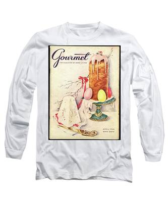 A Gourmet Cover Of A Cake Long Sleeve T-Shirt