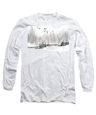 A Little Winter Magic Long Sleeve T-Shirt