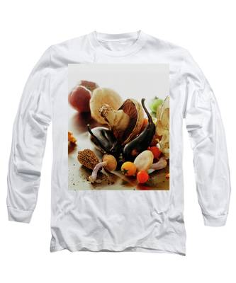 A Pile Of Vegetables Long Sleeve T-Shirt