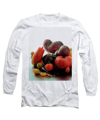 A Variety Of Vegetables Long Sleeve T-Shirt