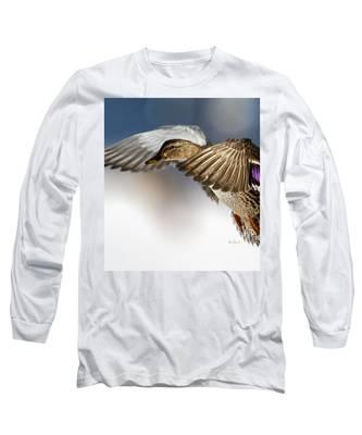 Flight Of The Mallard Long Sleeve T-Shirt
