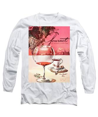 Gourmet Cover Illustration Of A Baccarat Balloon Long Sleeve T-Shirt