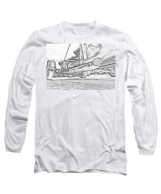 Hot Rod Exhausting Long Sleeve T-Shirt