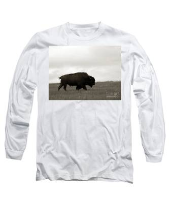 Lone Bison Long Sleeve T-Shirt