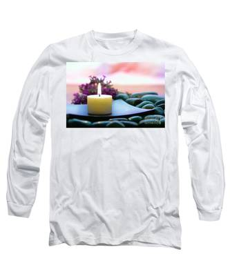 Meditation Candle Long Sleeve T-Shirt