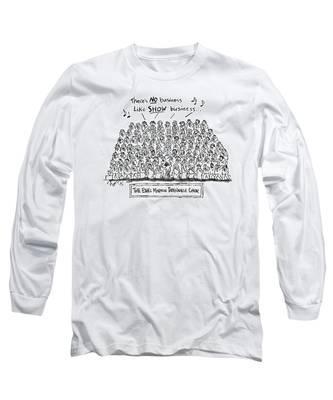 New Yorker April 21st, 1997 Long Sleeve T-Shirt