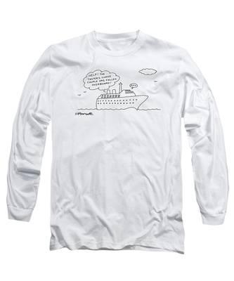 New Yorker December 21st, 1992 Long Sleeve T-Shirt
