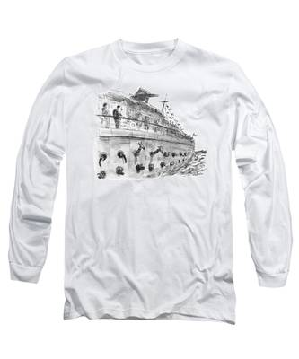 New Yorker December 24th, 1990 Long Sleeve T-Shirt
