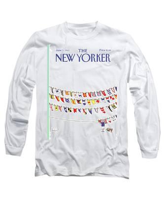 New Yorker June 3rd, 1985 Long Sleeve T-Shirt