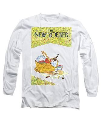 New Yorker June 5th, 1978 Long Sleeve T-Shirt