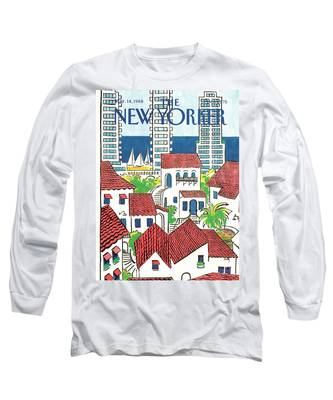 New Yorker March 14th, 1988 Long Sleeve T-Shirt