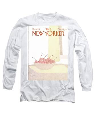New Yorker March 8th, 1982 Long Sleeve T-Shirt