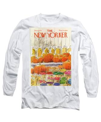 New Yorker October 25th, 1976 Long Sleeve T-Shirt