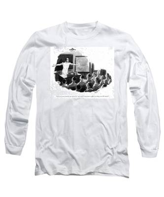 Now An Ocean Spreads Out Endlessly - All Water - Long Sleeve T-Shirt