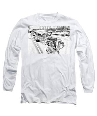 Pencil Rod Long Sleeve T-Shirt