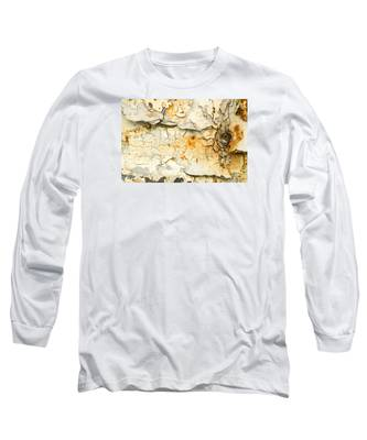 Rust And Peeling Paint Long Sleeve T-Shirt