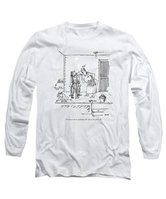 Scientists Have Extended The Life Of The Fruit Long Sleeve T-Shirt