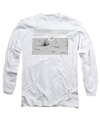 The Private Doubts Of Christopher Columbus Long Sleeve T-Shirt