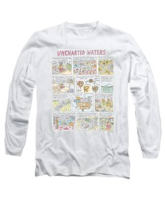 'uncharted Waters' Long Sleeve T-Shirt