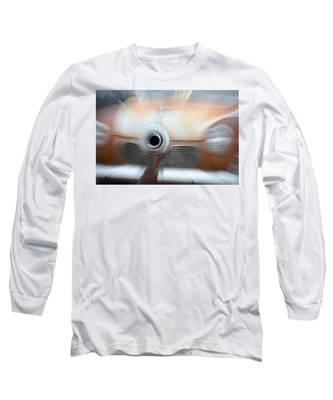 1951 Studebaker Abstract Long Sleeve T-Shirt