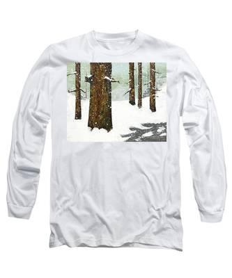 Wintering Pines Long Sleeve T-Shirt