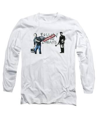 Banksy Long Sleeve T-Shirts