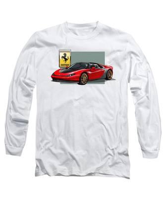 Ferrari Long Sleeve T-Shirts