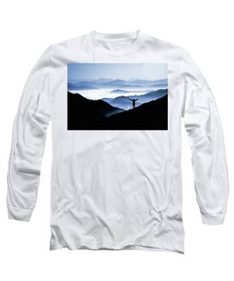 Adoration Of Natural Beauty Long Sleeve T-Shirt