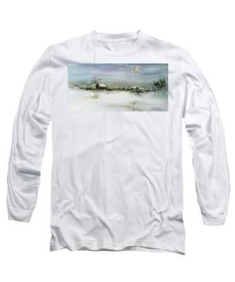 After A Heavy Fall Of Snow Long Sleeve T-Shirt