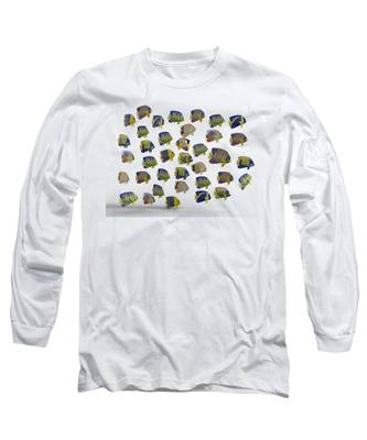 3-dimensional Long Sleeve T-Shirts