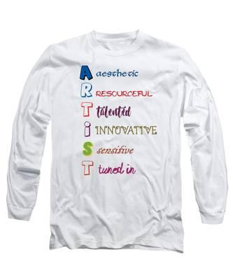 Artist Analogy Long Sleeve T-Shirt