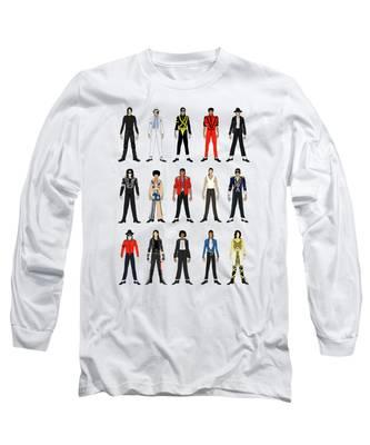 Michael Jackson King Of Pop Long Sleeve T-Shirts