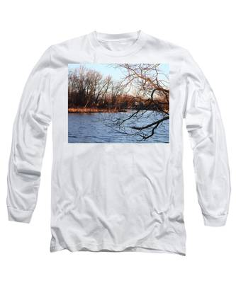 Branches Over Water Long Sleeve T-Shirt