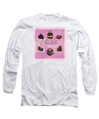 Chocolate Cakes Long Sleeve T-Shirt