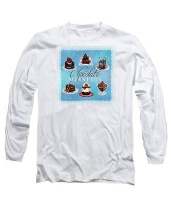 Chocolate Desserts Long Sleeve T-Shirt