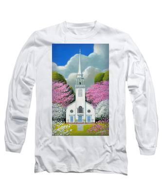 Church Of The Dogwoods Long Sleeve T-Shirt