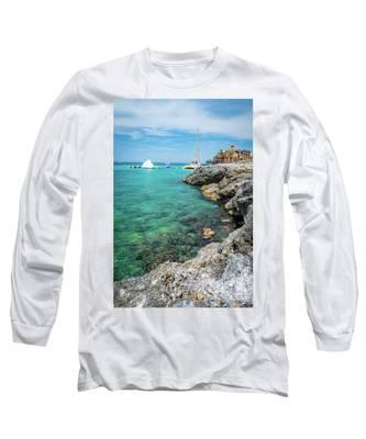 Coastline In Montego Bay Long Sleeve T-Shirt