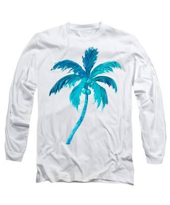 Coconut Palm Tree Long Sleeve T-Shirt