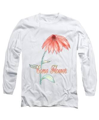 Cone Flower Long Sleeve T-Shirt