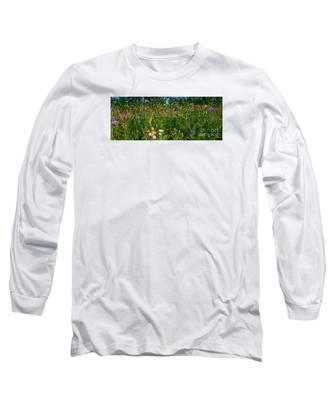Country Wildflowers IIi Long Sleeve T-Shirt