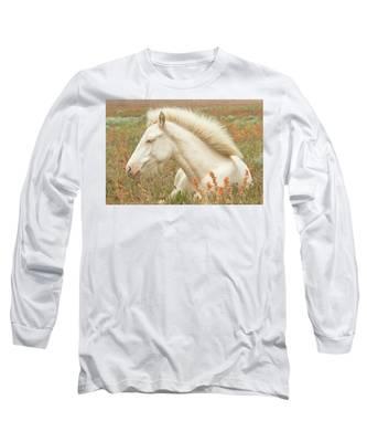 Cremello Beauty Long Sleeve T-Shirt