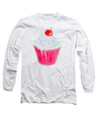 Cupcake Painting Long Sleeve T-Shirt