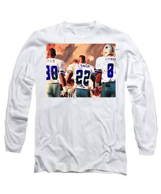 Emmit Smith Long Sleeve T-Shirts