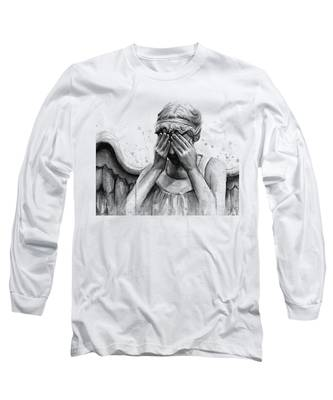Angel Long Sleeve T-Shirts