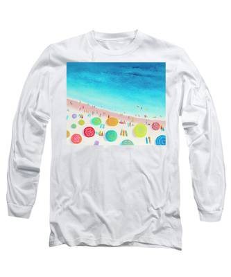 Dreaming Of Sun, Sand And Sea Long Sleeve T-Shirt
