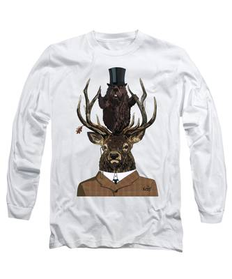 The Earl And Council With Hidden Pictures Long Sleeve T-Shirt