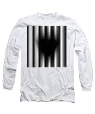 Expanding Heart Long Sleeve T-Shirt