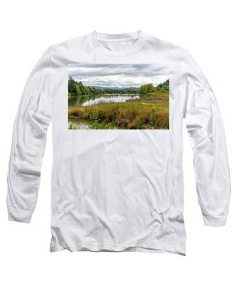fort Clatsop on the Columbia River Long Sleeve T-Shirt
